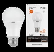 Лампа Gauss LED 12W E27 2700K
