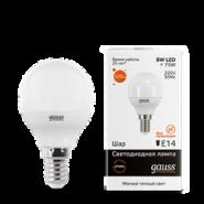 Лампа Gauss LED 8W E14 2700K