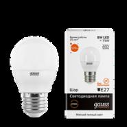 Лампа Gauss LED 8W E27 2700K