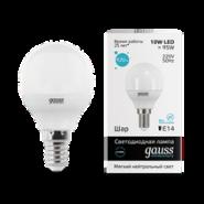 Лампа Gauss LED 10W E14 4100K