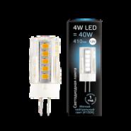 Gauss Лампа LED G4 12V 4W 4100K керамика 1/10/200