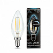 Лампа Gauss LED E14 5W 4100К