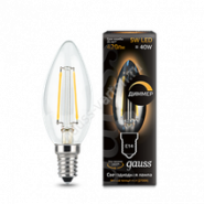 Лампа Gauss LED E14 5W 2700К
