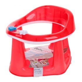 Сиденье для купания на присосках красное