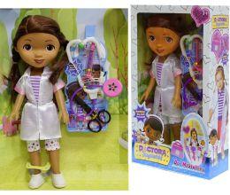Кукла Доктор Плюшева с аксессуарами, 35 см.