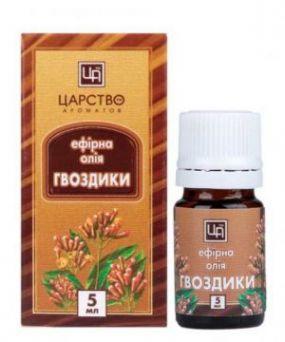 Царство ароматов - Эфирное масло Листьев Гвоздики 5 мл