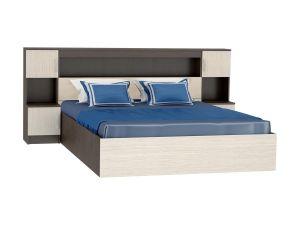 Кровать ФКР-552 с закроватным модулем (1,6м)