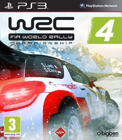 Игра WRC 4 FIA World Rally (PS3)