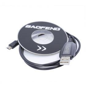 USB кабель и CD диск  для программирования раций Baofeng BF-T1 Mini