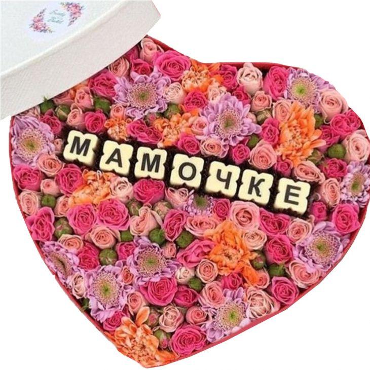 Коробочка Мамочке сердце