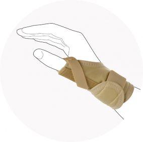 Лучезапястный эластичны бандаж Diagonal Comfort Otto Bock 4026