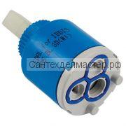 Картридж для смесителя 35мм (пластиковый шток)