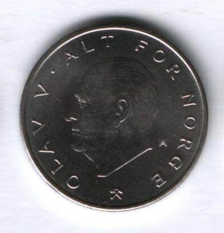 1 крона 1975 г. Норвегия UNC