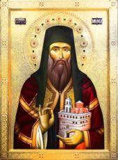 Никанор Чудотворец (рукописная икона)