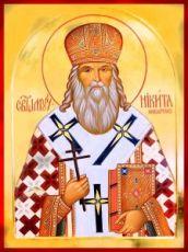 Никита Белевский (Прибытков) (рукописная икона)