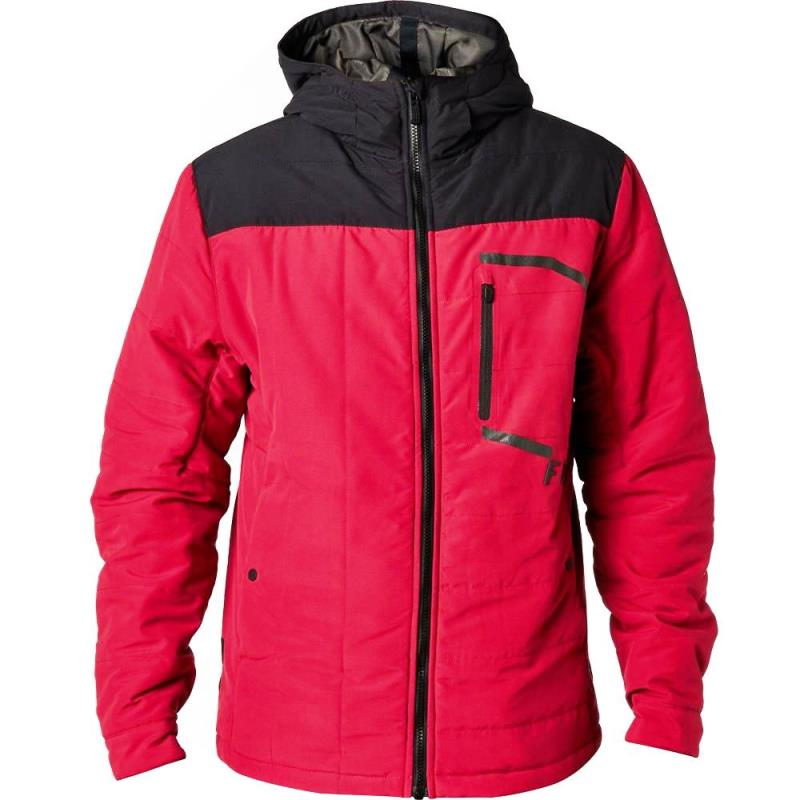 Fox - Podium Jacket Dark Red куртка, красная