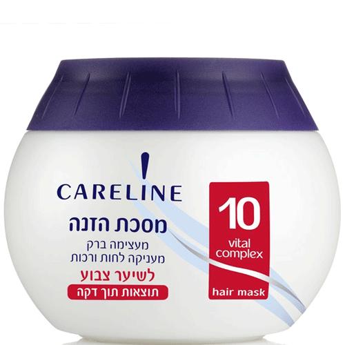 Питательная маска для окрашенных волос Careline (Кэролайн) 400 мл