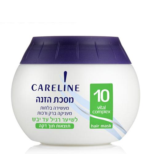 Питательная маска для сухих и нормальных волос Careline (Кэролайн) 400 мл