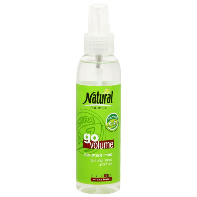 Лак для волос без газа Natural Formula (Нэйчурал Формула) 150 мл