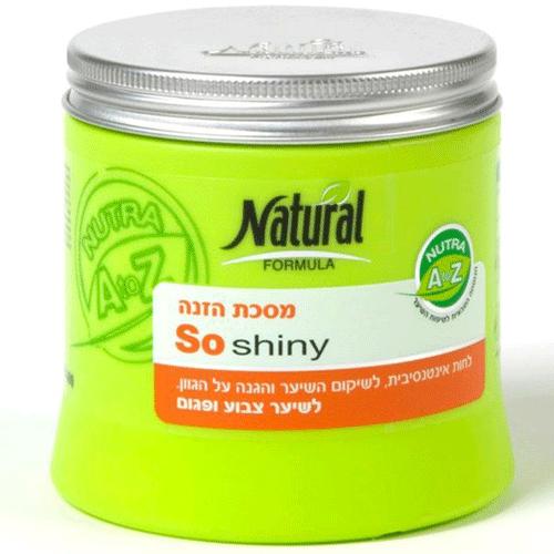 Маска восстанавливающая и сохраняющая цвет окрашенных волос Natural Formula (Нэйчурал Формула) 400 мл