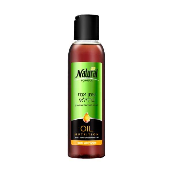 Масло для блеска окраш/обесцв. волос Natural Formula (Нэйчурал Формула) 150 мл