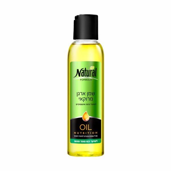 Масло интенсивно питающее сухие волосы Natural Formula (Нэйчурал Формула) 150 мл