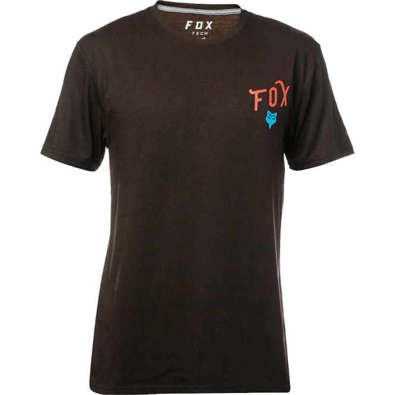 Fox - Currently SS Tech Tee Black футболка, черная