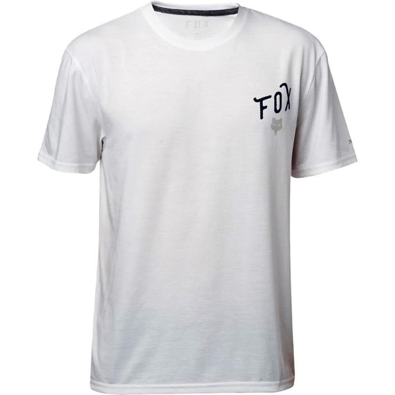 Fox - Currently SS Tech Tee Optic White футболка, белая