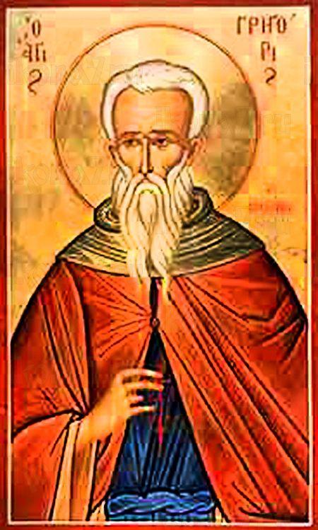 Анастасий I Синаит (Антиохийский) (рукописная икона)