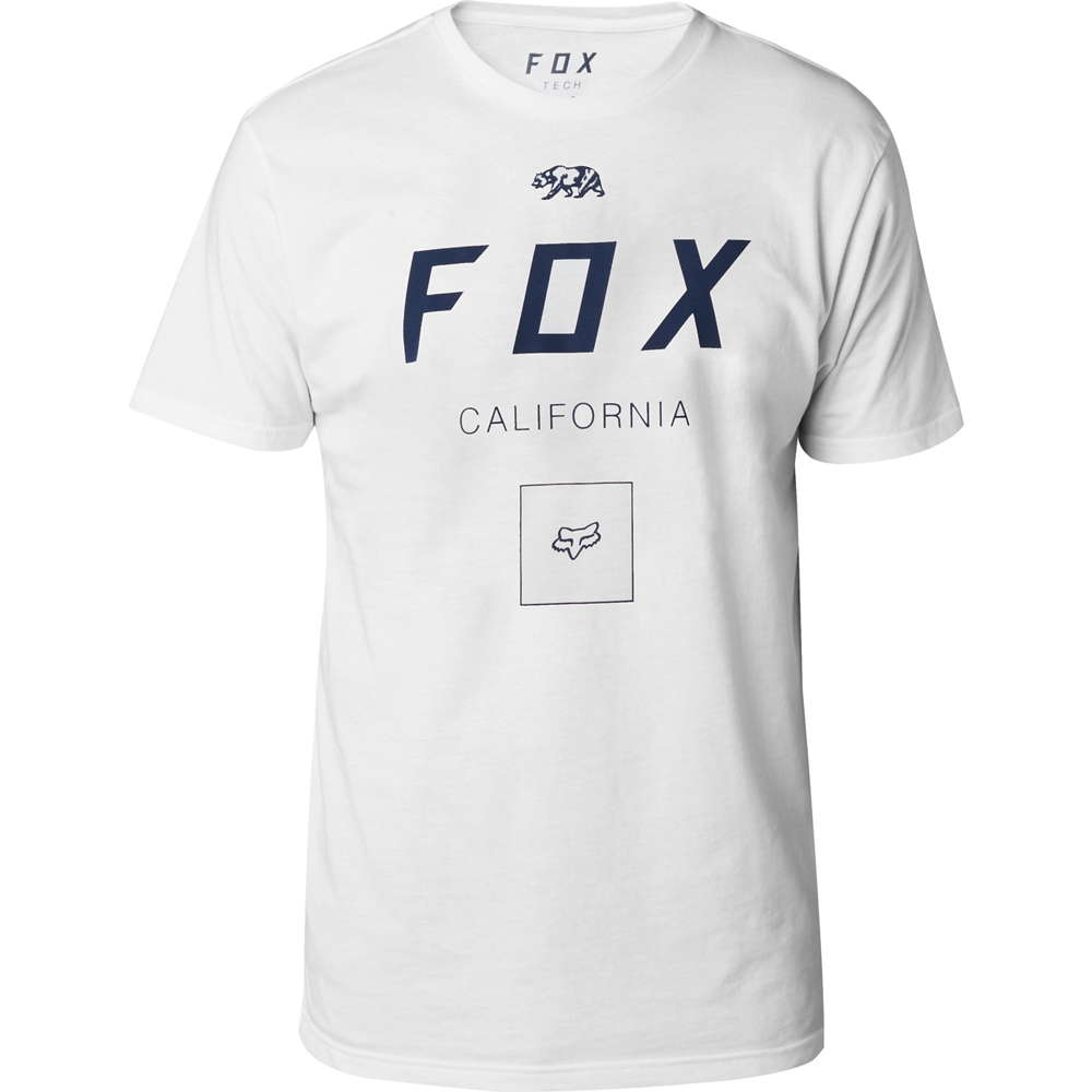 Fox - Growled SS Tech Tee Optic White футболка, белая