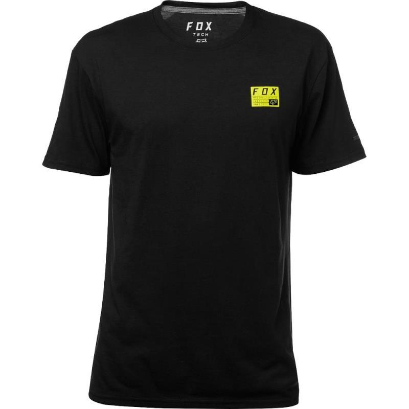 Fox - MX Raised SS Tech Tee Black футболка, черная