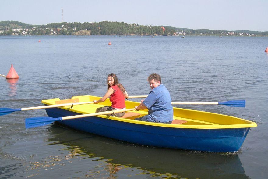 Пластиковая лодка ВИЗА Тортилла-5