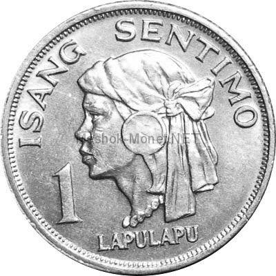 Филиппины 1 сентимо 1969 г.
