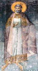 Амфиан Патарский (рукописная икона)