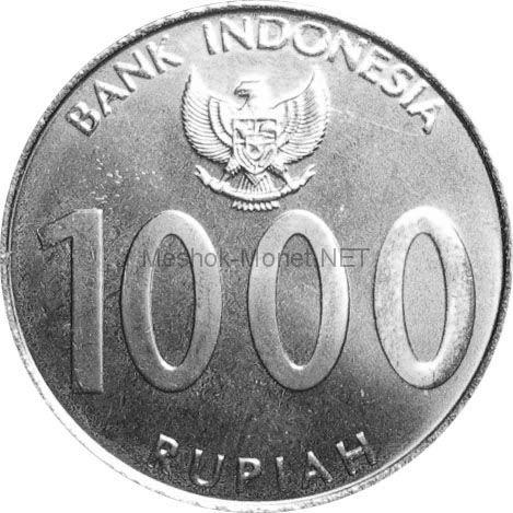 Индонезия 1000 рупий 2010 г.