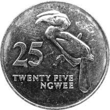 Замбия 25 нгвей 1992 г.