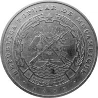 Мозамбик 10 метикаль 1980 г.