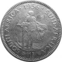 ЮАР 1 шиллинг 1956 г.