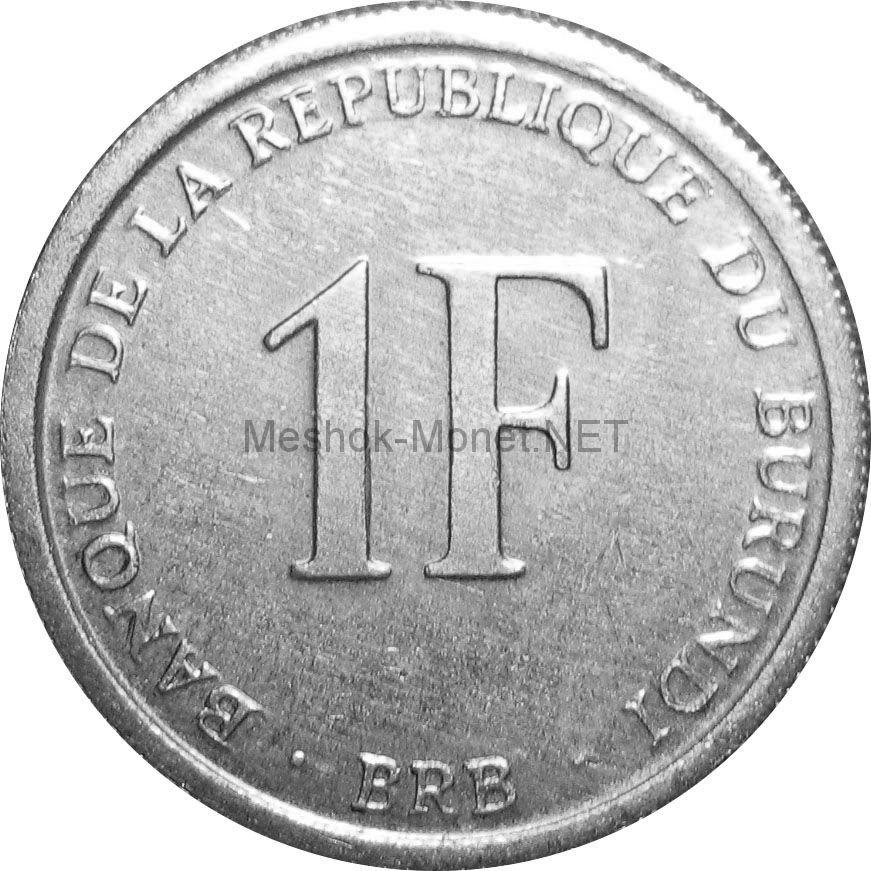 Бурунди 1 франк 2003 г.