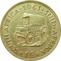 ЮАР 1 цент 1961 г.
