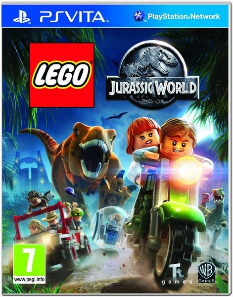 Игра Lego Jurassic World (PS Vita)