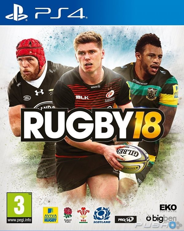 Игра Rugby 18 (PS4)