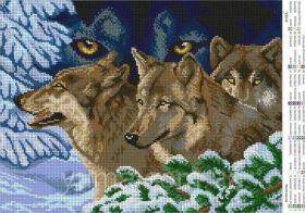 ЮМА-3140а. Взгляд Волка. А3 (набор 1525 рублей)
