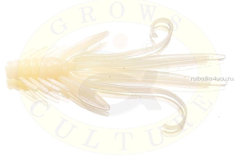 Купить Мягкая приманка Grows Culture Nymph Trout Red Bass 50 мм (съедобные) цвет White