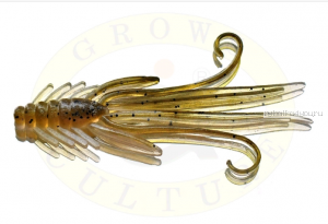 Мягкая приманка Grows Culture  Nymph Trout Red Bass 50 мм (съедобные) цвет Olive/Silver