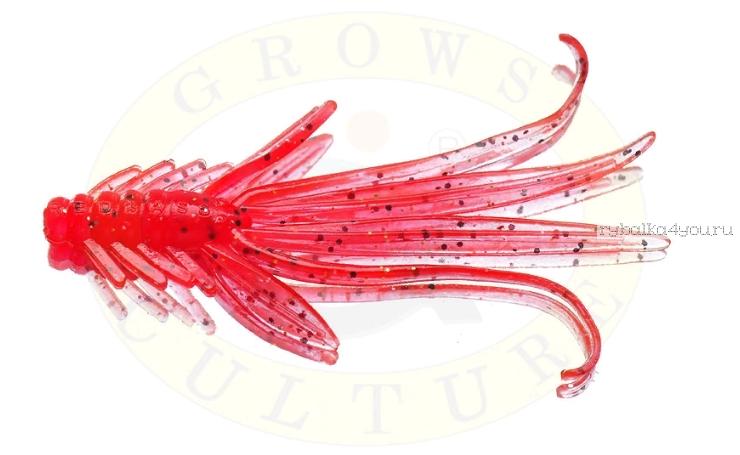 Купить Мягкая приманка Grows Culture Nymph Trout Red Bass 80мм (съедобные) цвет WORM
