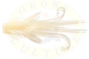 Мягкая приманка Grows Culture  Nymph Trout Red Bass 80мм (съедобные) цвет White