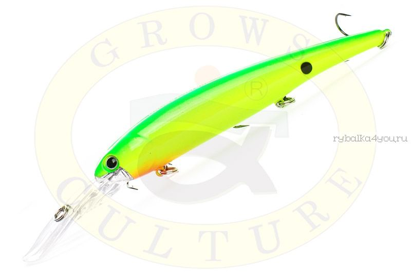 Купить Воблер Grows Culture Bandits Walleye Deep 120мм, 17.5гр / цвет: 11#