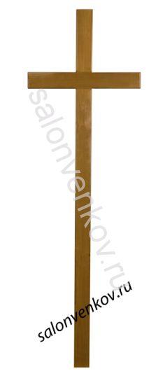 """Крест на могилу деревянный из дуба """"Католический""""  230см"""