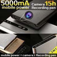 Внешнее зарядное устройство Power Bank с камерой